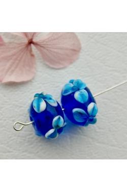 Klaashelmes - Lilleline, sinine (19x11mm)