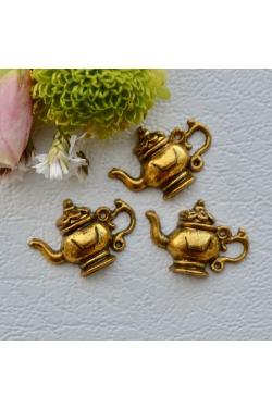Ripats - Kuldne Teekann (22x15mm)