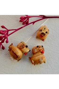 Klaashelmes - koer (15x15mm)